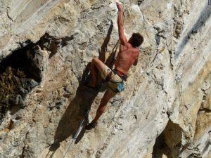 Free climbing istria